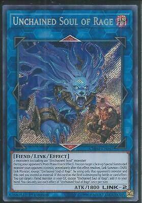 Chim-En043 Unchained Soul Of Rage – Secret Rare 1St Ed! In Stock! Get Yours 1St!