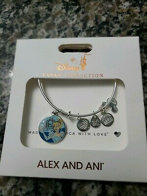 Disney Parks Cinderella Have Carriage and Be Kind Alex and Ani Silver New NWT