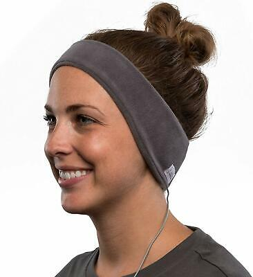 AcousticSheep SleepPhones v.6 Classic Fleece Headband Headphones (Medium (fits
