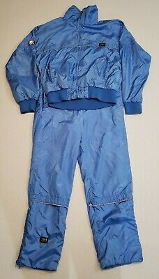 Vintage Frank Shorter CB Sports 1980's Tracksuit Mens Medium Pants Jacket Gortex