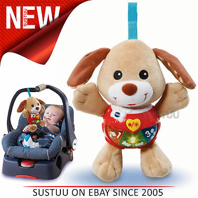 VTech Little Singing Puppy For Baby¦Songs & 15 Melodies¦Lightup Buttons¦3+ Month