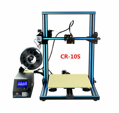 Offical Creality CR-10S 3D Printer 300X300X400mm Dual Z axies AU Resume Print