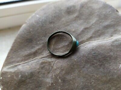 Antique ring 17th-18th centuries. Metal detector finds 100% original