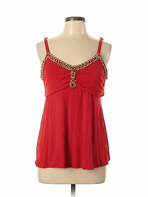 Assorted Brands Women Red Sleeveless Top L