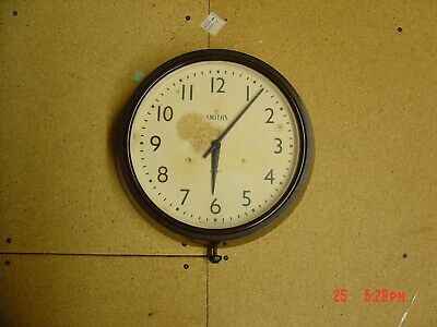 smiths vintage bakelite 8 day wall clock