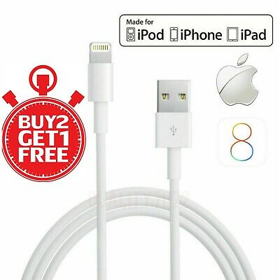Genuine Lightning Fast Charger Cable USB For Apple iPhone 6 7 8 X XR 11 Pro Max