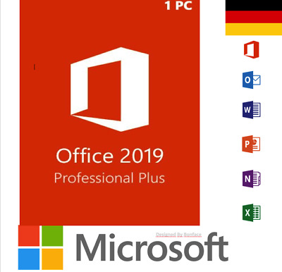 MS Office 2019 Professional Plus Produkt Genuine Key For License, Lifetime
