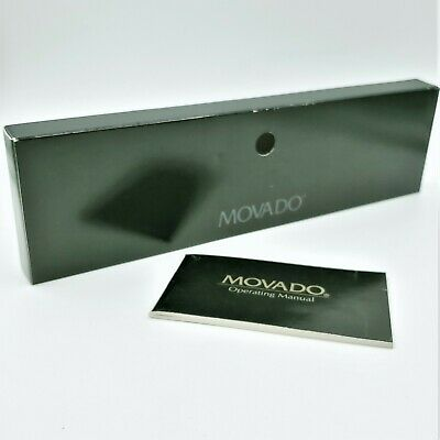 Movado Watch Box Sleeve Replacement and Manual