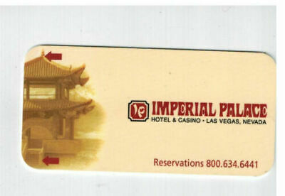 Imperial Palace Hotel & Casino- Las Vegas NV.-room key card