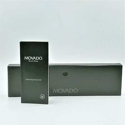 Movado Watch Box Sleeve Replacement with Manual