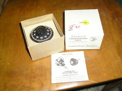 NEW IN BOX ELECTRO-DIAL Electrial Combination Lock Dial/Spindle
