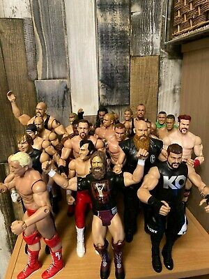 Wwe Wrestling Figures Bundle Mattel Elite Job Lot Choose A Wrestler