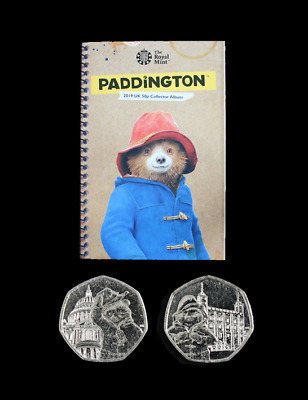 2019 Uncirculated Paddington Bear 50p Fifty Pence Coins Full Set Available