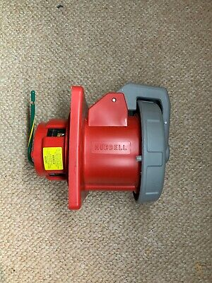 HUBBELL HBL460R7W 460R7W Receptacle,60A,480V New Open Box