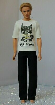 №091 Clothes for Ken Doll T-shirt and Pants for Dolls.