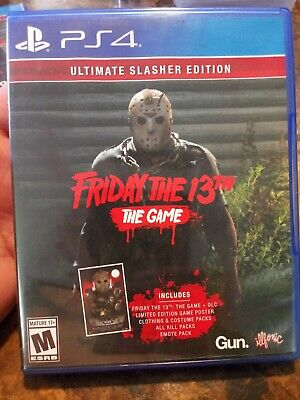 Friday the 13th The Game -Ultimate Slasher Edition PS4 Playstation 4 preowned