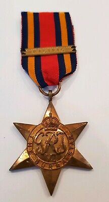 150mm Ribbon 6 inches Africa service medal 1939-45 long