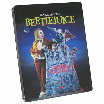 Beetlejuice [Steelbook] (mit dt. Ton) [Blu-ray] NEU / sealed