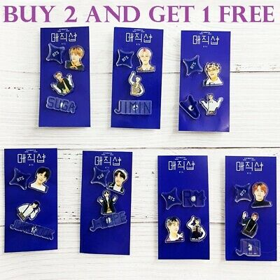 NEW BTS PIN ACCESSORIES MAGIC SHOP BANGTAN BOYS for ARMY + BUY 2 AND GET 1 FREE