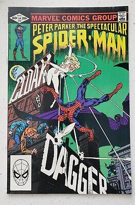 Peter Parker Spectacular Spider-Man 64 First Appearance Cloak And Dagger Fn