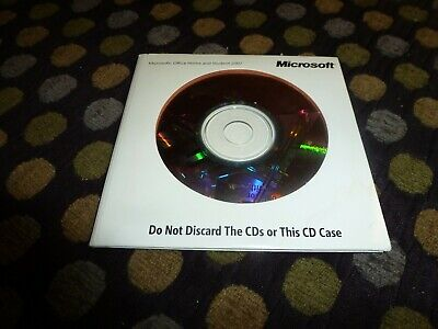 Microsoft office Home and Student 2007  Dell