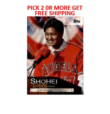 Shohei Ohtani Highlights 2019 Topps Update Singles Pick 2 Or More Get Free Ship