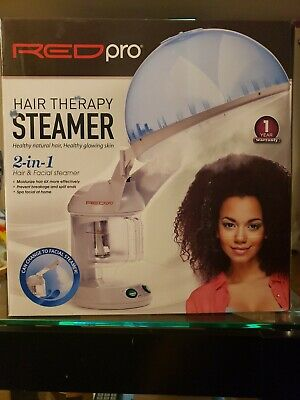 KISS Red Pro 2 In 1 Hair Facial Therapy Steamer NEW Model