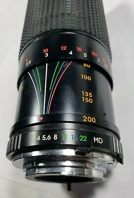 Focal MC 80-200mm Zoom Lens Made in Japan fits Minolta cameras cheap price fast