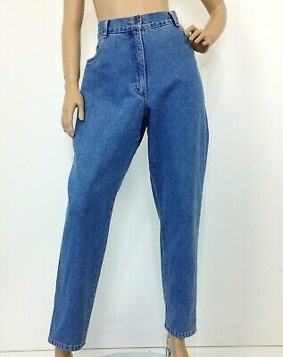 Vintage retro high waisted mom jeans by club petites label size 16