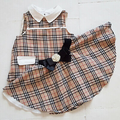 Kimocat toddler girls 2 piece set top and skirt plaid, Size 4T-5T