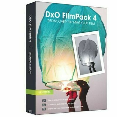 New - DXO Film Pack  4 Essential Programs Software -  Sealed - Free Post