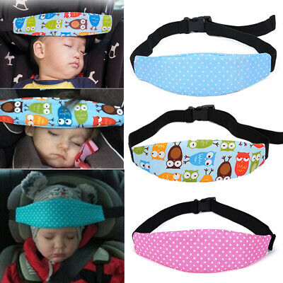 Baby Car Seat Sleep Holder Belt Kids Head Fasten Toddler Safety Nap Support