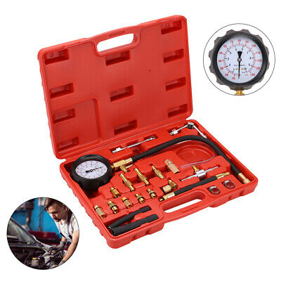 UK Fuel Pressure Meter Tester Oil Combustion Spraying Injection Gauge Car