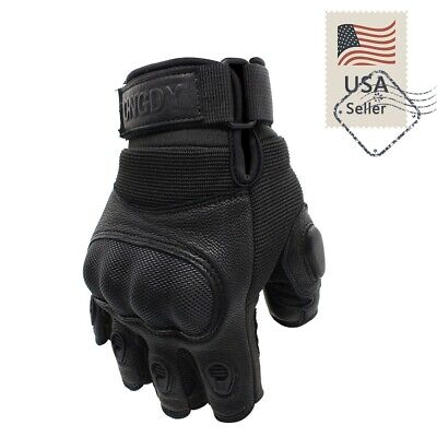 Combat Tactical Gloves Army Military Shooting Hiking Hunting Gloves Half Finger