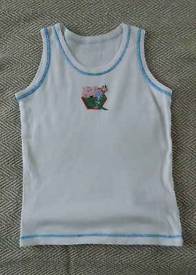 boys sleeveless George the Pig vest size 2-3 years Mothercare