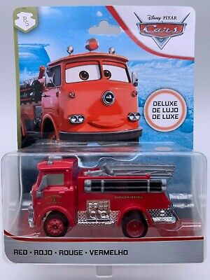 "Disney Pixar Cars Diecast Red Deluxe Radiator Springs ""RARE"""