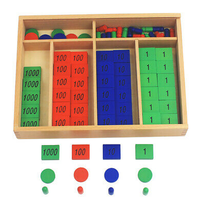 New Arrival Montessori Materials Wooden Toys Stamp Game Large Size Beech Wood