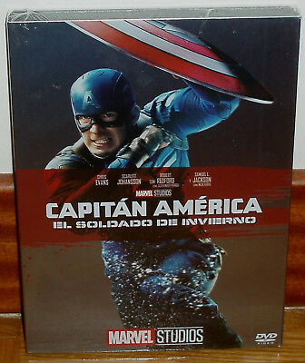 Captain America the Soldier of Winter Slipcover DVD New Marvel (No Open) R2