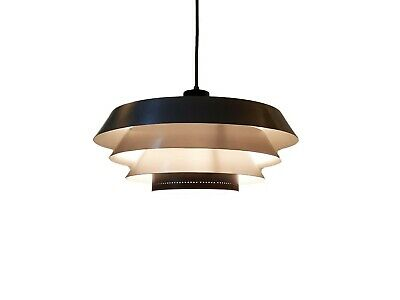Bent Karlby Pendant Lamp by Lyfa 1960 Design Danois Suspension Aluminium Modern