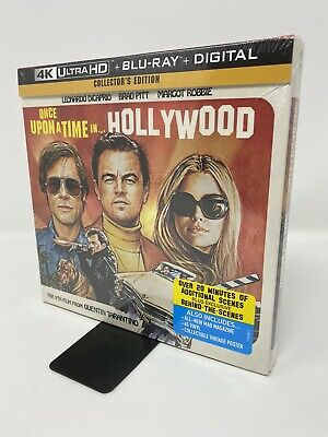 Once Upon a Time in Hollywood Collector's Edition  (4K Ultra HD/Blu-ray/Digital)