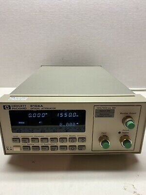 HP Agilent 8156A Optical Attenuator - Option 221