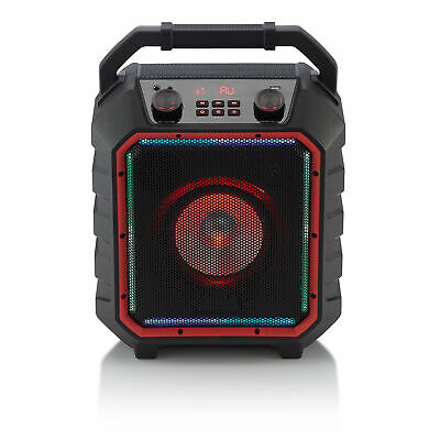 Blackweb BWD19AAS10 Black Portable Bluetooth Party Speaker, Medium