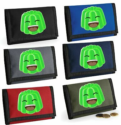 Unisex Kids Lego Face Ripper Wallet Bagbase Kids  Holiday Money Holder 7 Colours