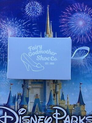Disney Holiday Gifting Cinderella Fairy Godmother Shoe Ornament Pin LR In Hand