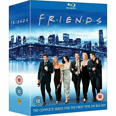 Friends: The Complete Series Blu Ray [Region free] NEW * Free USA shipping