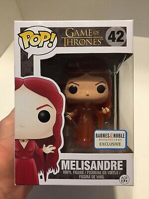 Funko Game of Thrones 42 Translucent Melisandre Barnes & Noble Exclusive Vaulted