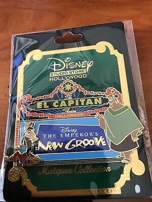 Disney D23 2019 DSF El Capitan Theatre Marquee The Emperors New Groove Pin LE400
