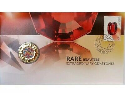 2017 One Dollar PNC Rare Beauties Extraordinary Gemstones Coin Unc $1 Perth Mint