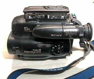 Sony Handycam 8mm Camcorder Video CCD- TR61 ONLY For Parts