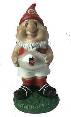 St George Dragons NRL Solar Powered Light-up Ball Design Gnome